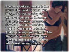 Ada Wong's Epilogue by sakurariguret