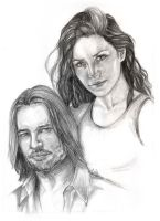 Sawyer and Kate by Coffs