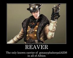 Demotivational: REAVER by mortefere