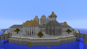 Minecraft Builds - The Lost City of Atlantis by TheM4cGodfather