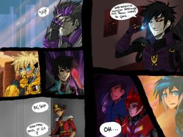 Test Comic Page by Zaquinni