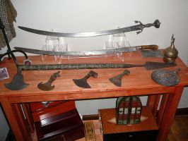 Afghanistan swords and axes by ABNSmith