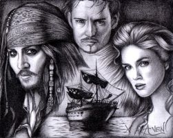 Pirates of the Caribbean by provodkative