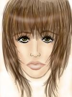 1st Realism Face Attempt by luvvs2drawanime