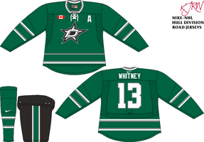 Dallas Stars Road V1 by thepegasus1935
