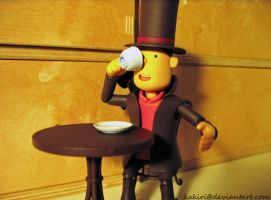 Professor Layton Tea FAIL by Kakiri