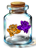 Bottled Roses by CosmoGurl713