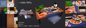 Sushis Party by Elo-Doudoune