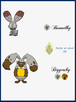 285 Bunnelby  Evoluciones by Maxconnery