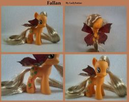 My Little Pony Custom Fallan by LadySatine2004