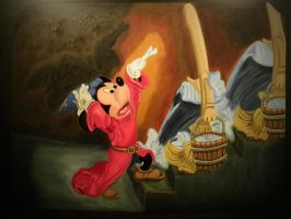 Mickey Magic by luckyseven11779
