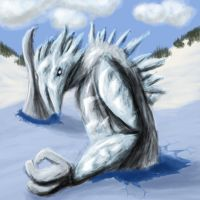 Icebreaker: Water Colossus by TatterTailArt
