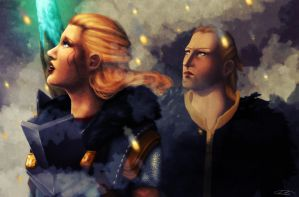 Dragon Age: Let the world burn by AlanaKai