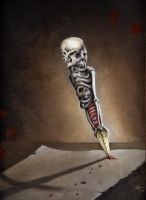 bone pen by imagist
