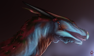 Dragon Portrait 02 by LicianDragon
