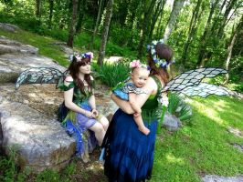 Renaissance Festival Fairies by NailgunInk