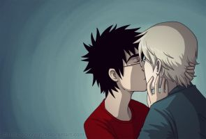 Drarry: Kiss by dissolvedoxygen