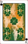 9 of Clubs for -Utopia's Cards by marthig