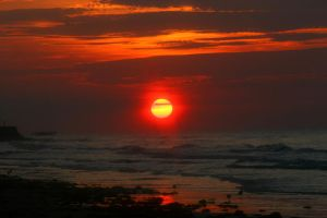 daybreak over the ocean by TlCphotography730