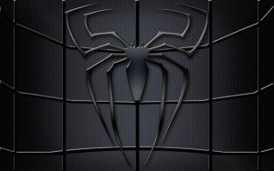 Spider-man black logo by Balsavor