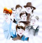 Arcade Fire by michaeldaviniart