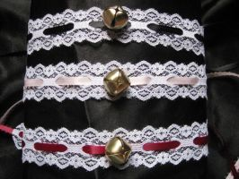 Lace Cat Collars by mad-hatter-inc