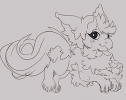 WIP: Chibi Pet Matibab for Royalteal by MzzAzn