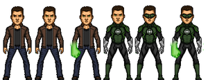 Green Lantern - (Hall Jordan) by TheDayWatcher