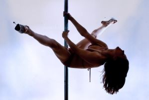 Pole Art - Tail Split by h-e-photography