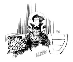 Judge Dredd by Wes-StClaire