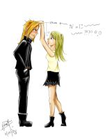 FMA - Ed and Winry by kittyferfer