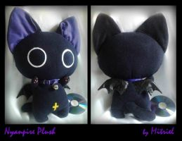 Nyanpire Violet Plush by Mitriel