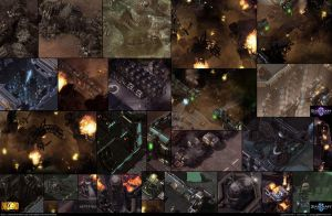 Starcraft II: Terran Lab Environment Assets 2013 by cg-sammu