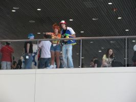 Ash and Misty - Otakon 2010 by jacmac