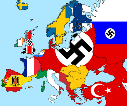 Alternate WW2 - More Axis Countries by poklane