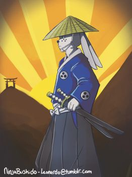 Usagi Yojimbo by SarUke-koi