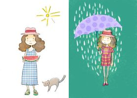 rainy or sunshine by nancy0039