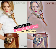 Tutorial:1 HDR Look So Vintage by Farawlat-dxb