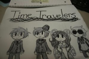 Time Travelers by blair-raspberryl