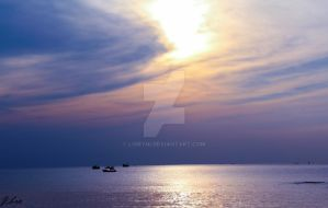 Phu Quoc Violet Sunset by lomyni