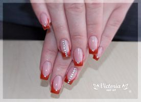Nail art 265(Gel nails) by ChocolateBlood