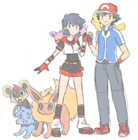 Pokemon XY - New Look by SkyDrew