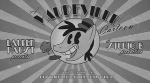 Vaudeville Title Card by FractiousLemon