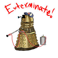 Exterminate! by palisadian-wasp