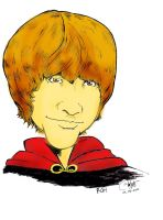 Ron Caricature_coloured by sangpendosa