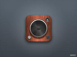Speaker iOS Icon - Training by sriozzz