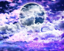 PREMADE SKY BG by Moonglowlilly