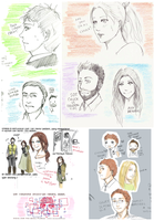 CHUCK Fanarts and Doodles dump by aquaticsky