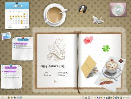 My Desk for Mother's Day by Mulberry24