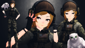 [MMD] A51 Aki Hunters (reboot)(updated) by AbyssLeo